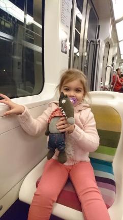 P'tit loup dans le métro